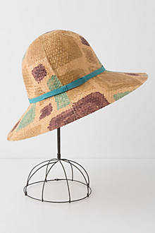 Leaf Lines Floppy Hat