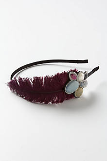 Fay Feathered Headband