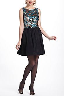 Paillette Flutter Mini Dress
