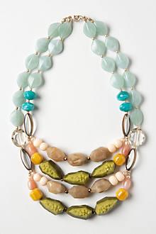 Naturalist Gem Layer Necklace