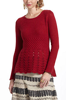 Skirted Peplum Sweater