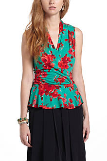 Rose Hip Peplum Top
