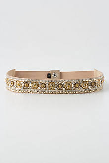 Glinting Mosaic Stretch Belt