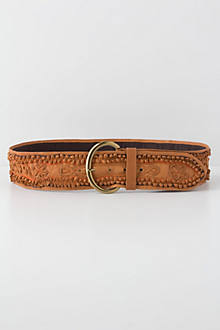 Alamo Leather Belt