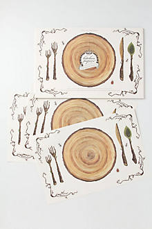 Bark Paper Placemats