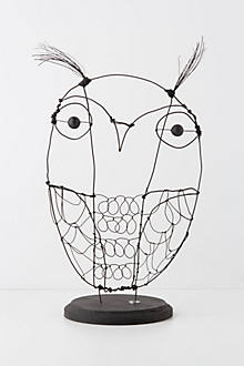 Limited Edition Wire Owl