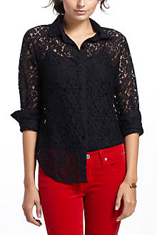Dogwood Lace Buttondown