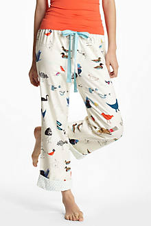 Bird Chatter Flannel Loungers