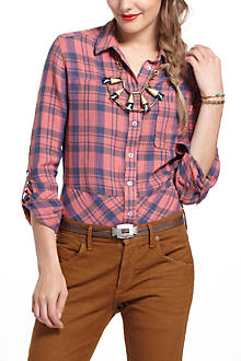 Windowpane Plaid Buttondown