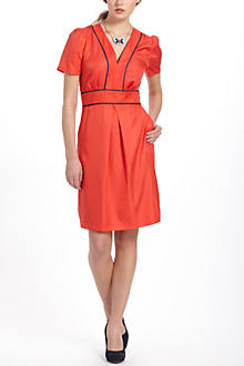 Piped Perdita Dress