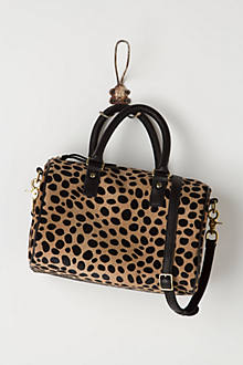 Leopard-Dappled Duffle