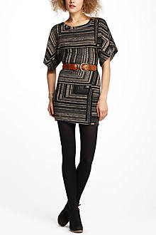 Geometric Dolman Dress