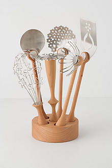 Wildflower Utensil Set