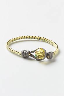 Crested Cord Bracelet