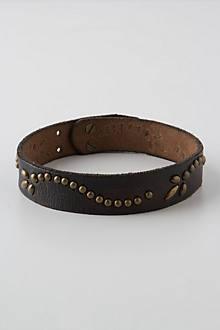 Sprig-Studded Boot Belt