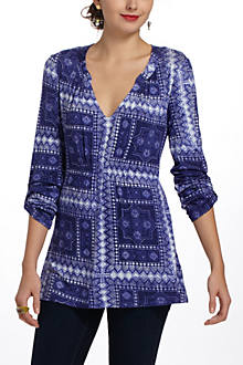 Delft Stamp Tunic