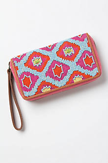 Raavi Beaded Wallet