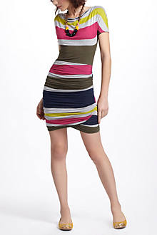 Racestripe Jersey Dress
