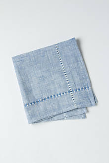 Hatched Chambray Napkin