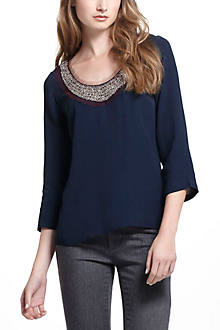 Cosmic Collar Blouse