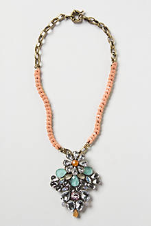 Glinted Petal Necklace