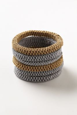 Honeycomb Bangle Set