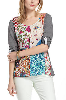 Milieu Patchwork Top