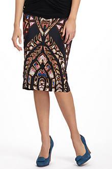 Dusk Relics Pencil Skirt