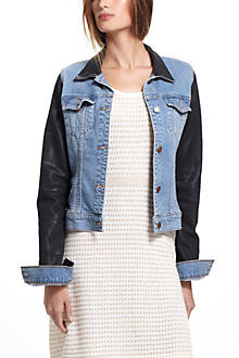 J Brand Coated Denim Jacket
