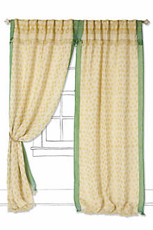 Summer-Spotted Curtain