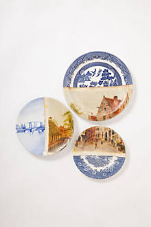 Old Town Bridge Plate Collage