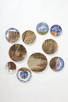 Birch and Brook Plate Collage