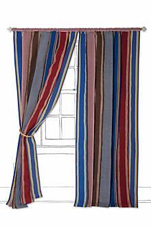 Vintage Canvas Stripe Curtain
