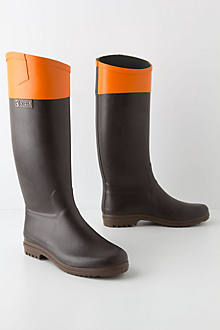 Color-Topped Rain Boots