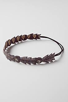 Beaded Plume Headband