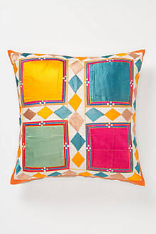 Hand-Stitched Bangalore Pillow