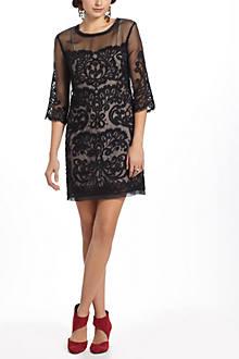 Paisley Scroll Dress