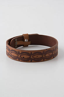 Embossed Boot Belt