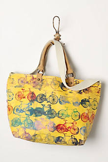 Painted Cycles Tote