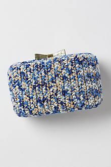 Textile Bow Clutch