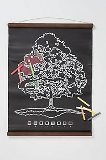 Tree Chalkboard Scroll