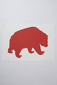 Banquet Bear Print
