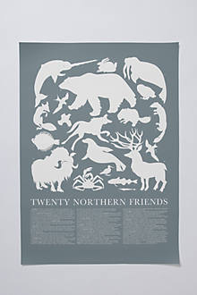 Northern Animals Print