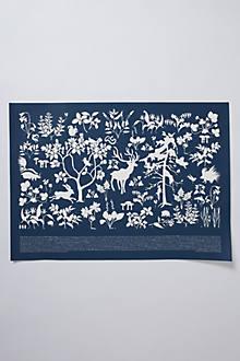 Boreal Flora & Fauna Print
