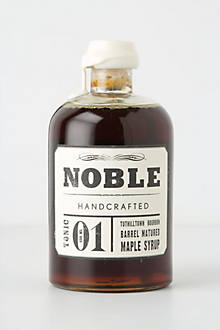 Noble Handcrafted Barrel-Matured Maple Syrup