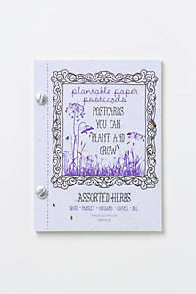 Plantable Postcard Set