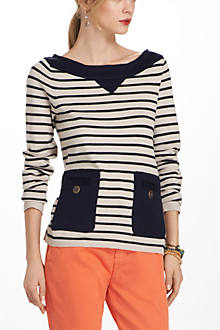 Button Barge Sweater