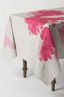 Begonia Tablecloth