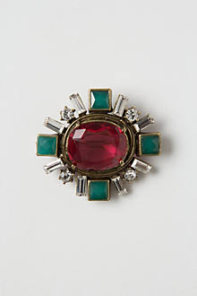 Deco Burst Brooch
