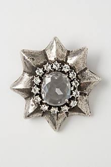 Star Bust Brooch
